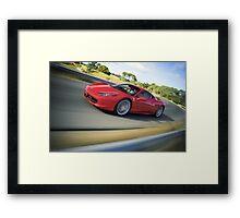 Ferrari 458 Italia Framed Print