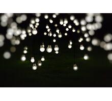 Light Display Art - King's Park Botanical Garden, Perth Photographic Print