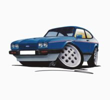 Ford Capri (Mk3) 2.8i by Richard Yeomans