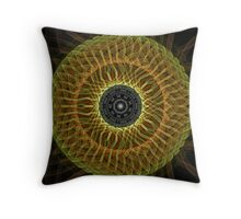 Demonic Eye Throw Pillow