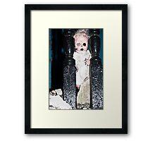 One eyed Charlotte Framed Print