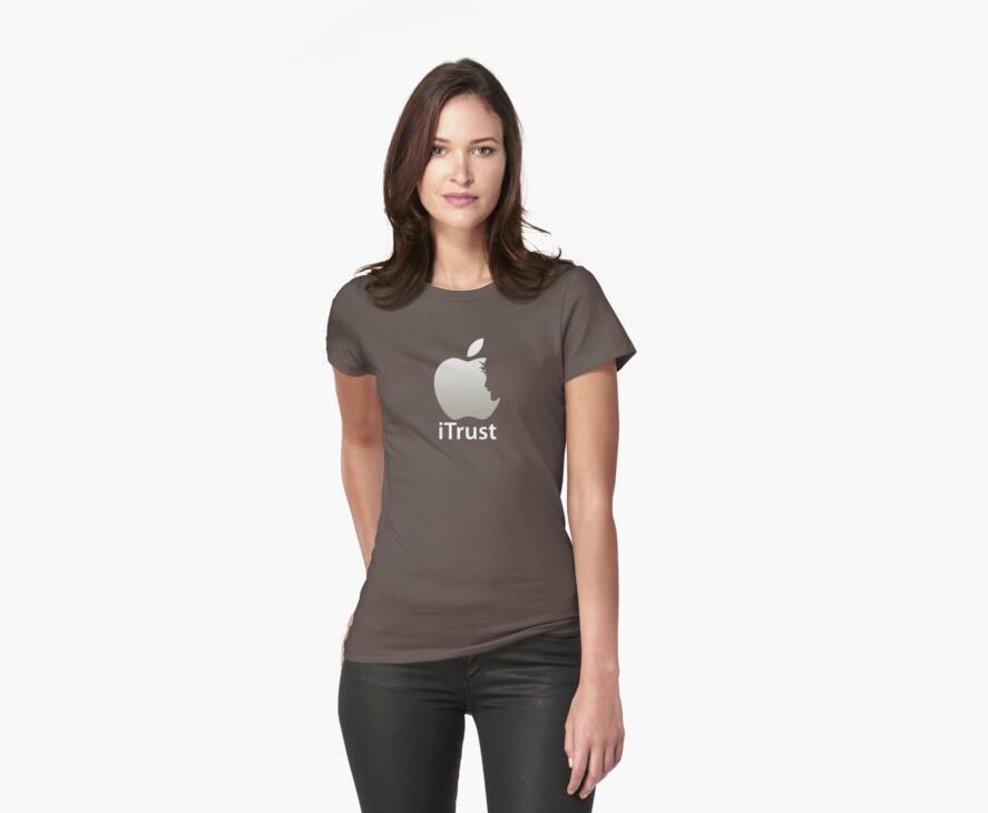iTrust Christian T-Shirt  by Lana Wynne