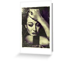 Love is a fire.  But whether it is going to warm your hearth or burn down your house, you can never tell. Greeting Card