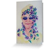 Purple Shades... Greeting Card