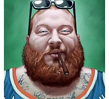 Action Bronson by AndreaMangiri