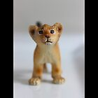 Schleich Vintage Lion Cub Toy Figurine by © Sophie W. Smith