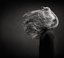 exploding hair by Michal Tokarczuk