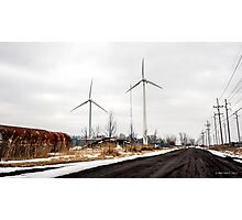 Standing Tall For Clean Energy Photographic Print
