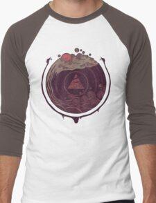 Dark Waters Men's Baseball ¾ T-Shirt