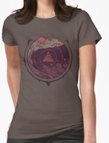Dark Waters Womens Fitted T-Shirt