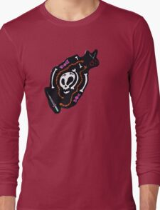 Skull Design Tee Shirt Long Sleeve T-Shirt