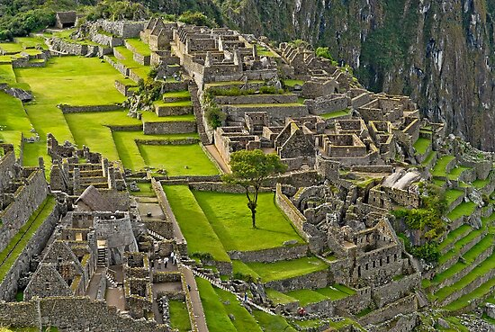 Machu Picchu Archeological site in Peru (II) by Konstantinos Arvanitopoulos