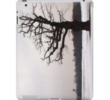 Winter Oak in Morden Park, London iPad Case/Skin