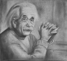 Albert Einstein by stoophilpott