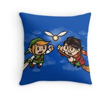 A Link to the Snitch Throw Pillow