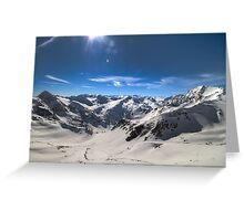 Austria - Land of Mountains Greeting Card