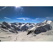 Austria - Land of Mountains Photographic Print