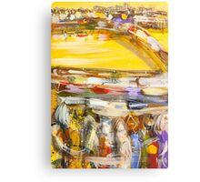 Dawn rush Canvas Print