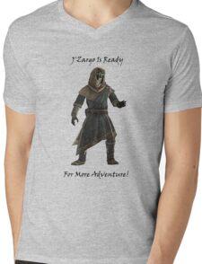 J'Zargo Is Ready for More Adventure! Mens V-Neck T-Shirt
