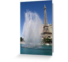 """Paris"" Greeting Card"