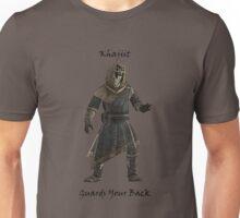 Khajiit Guards Your Back Unisex T-Shirt