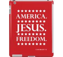 America. Jesus. Freedom. - The Campaign iPad Case/Skin