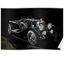 4,5 Litre Bentley Le Mans Poster