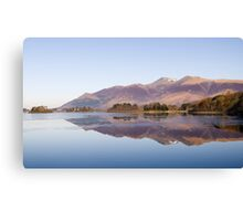 Derwent Water - The Lake District Canvas Print