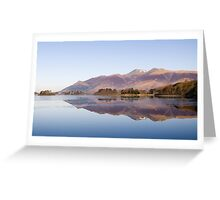 Derwent Water - The Lake District Greeting Card