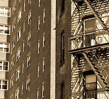 Fire Escape (antiquated) by Brittany Brassell