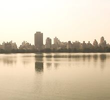 Central Park Cityscape by Brittany Brassell