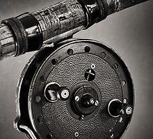 Vintage Fishing Reel by Paul Holman