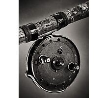 Vintage Fishing Reel Photographic Print