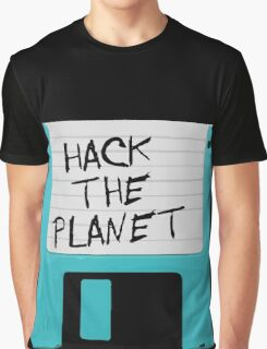 Hack The Planet Graphic T-Shirt