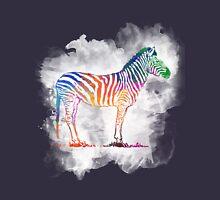 Colorful Zebra in a Cloud Unisex T-Shirt