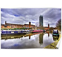 Castlefield Manchester Poster