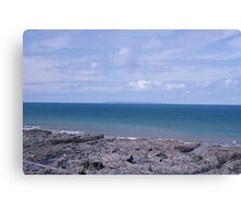 Sea View Canvas Print