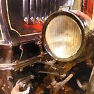 Headlight from 1917 Truck by Susan Savad