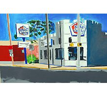 Whiting, Indiana White Castle Photographic Print
