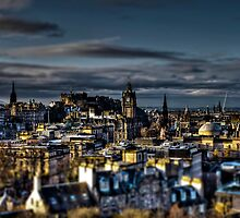 Edinburgh Tiltshift by dgscotland