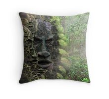 Gentle Voice of The Forest Throw Pillow