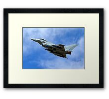 Eurofighter Typhoon IPA5 ZJ700 Framed Print