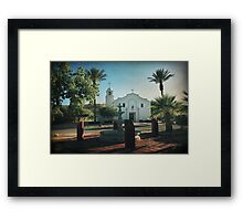 For Whom it Tolls Framed Print