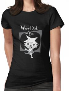 Winky Dink and You! Womens Fitted T-Shirt