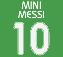 MINI MESSI One Piece - Short Sleeve