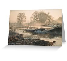 In To The Mystery - Sunrise At White Rock Greeting Card