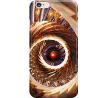Eye of the Digital Storm iPhone Case/Skin