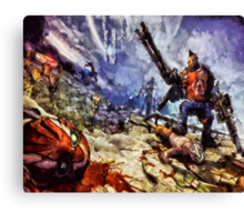 Don't Mess With The Gunzerker Canvas Print
