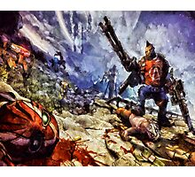Don't Mess With The Gunzerker Photographic Print