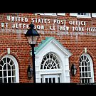 Post Office Building Detail - Port Jefferson, New York  by © Sophie Smith
